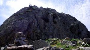 Blick auf das Gipfelplateu